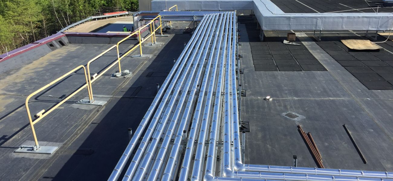 Roof piping