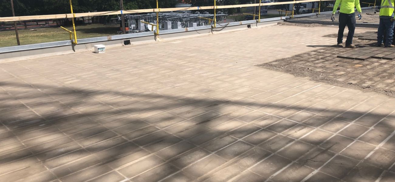 01   Removal of Existing Roof Pavers